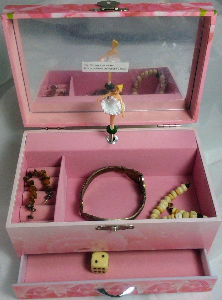 rosa spieluhr ballerina von trousselier spieluhren. Black Bedroom Furniture Sets. Home Design Ideas
