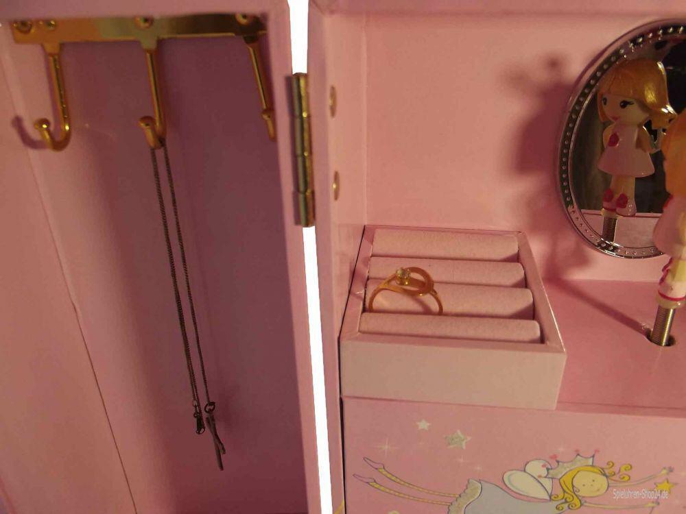 Schmuck Musikschrank Prinzessin rosa, von Trousselier