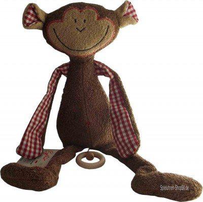 """Schlenker-Affe, große Baby Spieluhr Efie """"naturline"""""""