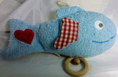 Baby Spieluhr Fisch, Efie naturline 100% made in germany