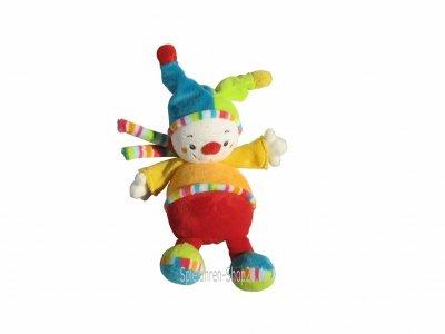 """Baby-Spieluhr mini Clown Pierre, Reihe """"70´s Stripes"""""""