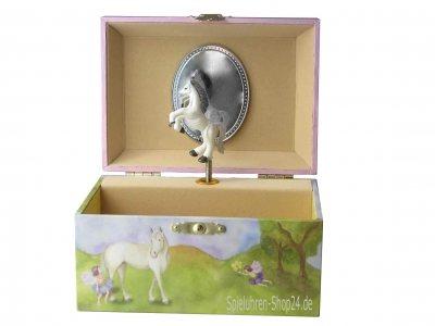 Kleine Pferde-Fee Spieldose von Enchantmints