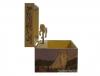 Spieluhr Gentle Unicorn - das sanfte Einhorn, Spieldose geöffnet, Ansicht Seite