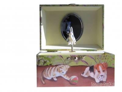 Spieluhr Hunde- und Katzenwelpen