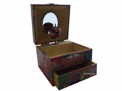 Kinder-Spieluhr, Elmar der Elefant, Trousselier