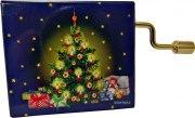Spieluhren Hand-Kurbelwerk Ummantelung Weihnachtsbaum