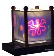 Magische Laterne mit Spieluhr Trousselier, verschiedene Motive