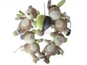 """Musik-Mobile Affen, Baby Spieluhr Serie """"Monkey Donkey"""""""