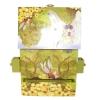 Feenpferd von Enchantmints, Spieluhr und Schubladen geöffnet, Ansicht Rückseite