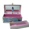 Elfenwinter Spieluhren für jede Jahreszeit, Ansicht von vorn, Kästchen herausgenommen, Spieldose geöffnet