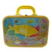 """Lunchbox """"Korallenriff"""" - Brotzeitbox aus Metall / B-Ware Einzelstück"""