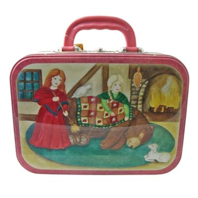 """Lunchbox Metall """"Schneeweißchen und Rosenrot"""" / B-Ware, Einzelstück"""