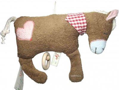 Efie Pferd, Baby-Spieluhr braun