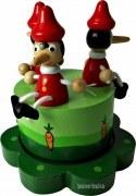 Spieluhr - Der hölzerne Pnocchio
