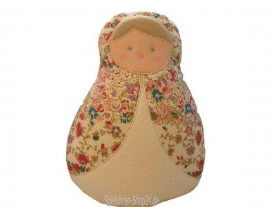 Trousselier Matrjoschka Puppe mit Musik, Spieluhr Rotten