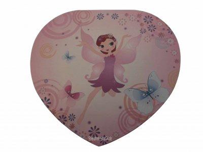 Großes Musikherz rosa Elfe, Trousselier Spieluhr