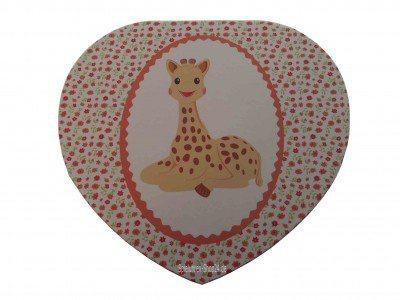 """Spieluhr Herz """"Sophie The Giraffe"""" © von Trousselier"""