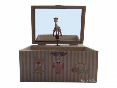 """Kinder-Spieluhr, """"Sophie The Giraffe""""©, Trousselier"""