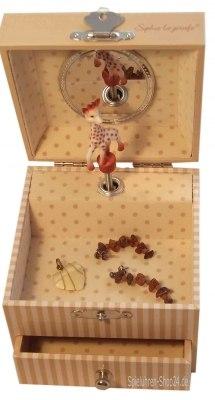 """Kinder-Spieluhr, """"Sophie The Giraffe"""" ©, Trousselier"""