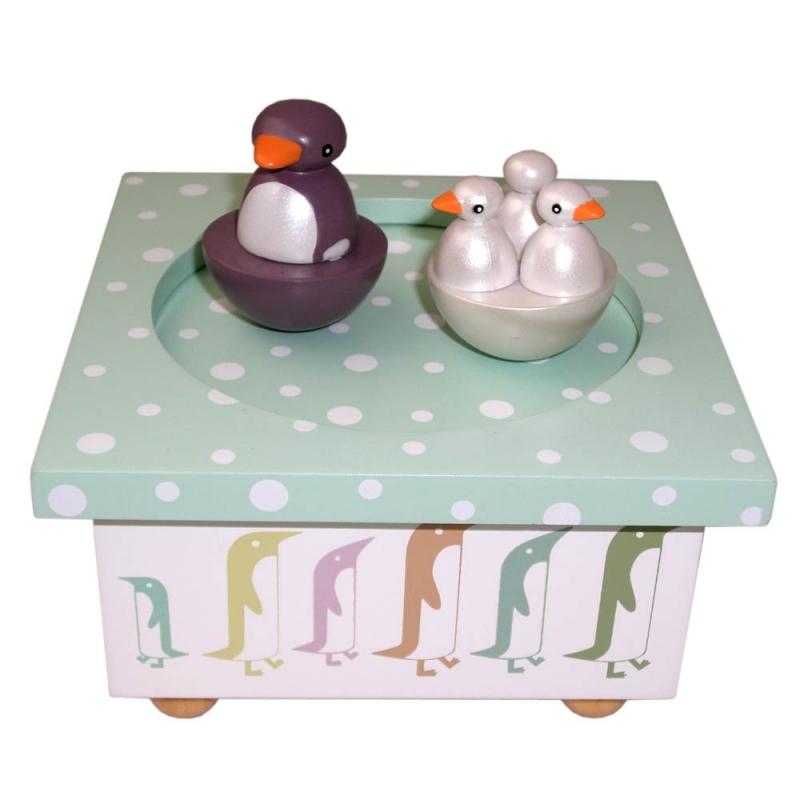 trousselier spieluhr pinguine spieluhren. Black Bedroom Furniture Sets. Home Design Ideas