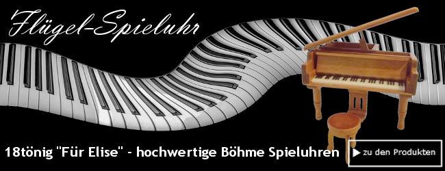 Klassische Melodien in wunderschönen Spieluhren